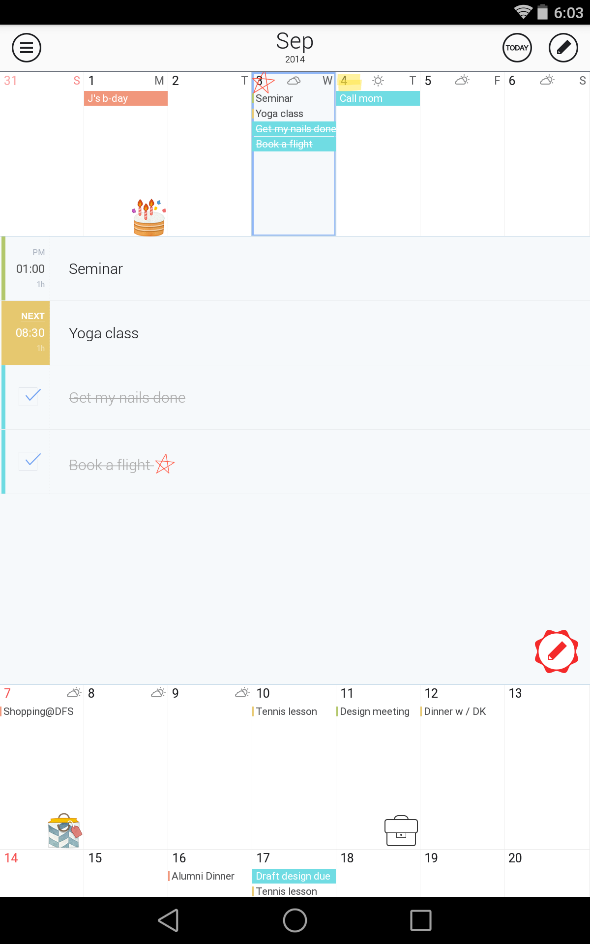 SolCalendar - Calendar / To do screenshot #10