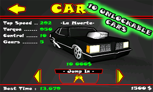 StreetDrag 3D Lite - screenshot thumbnail