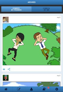 Bitstrips - screenshot thumbnail