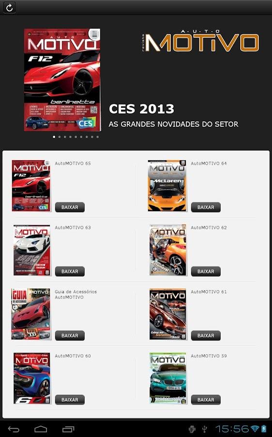 Revista AutoMOTIVO - screenshot