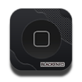 Blackened Theme Go Launcher EX