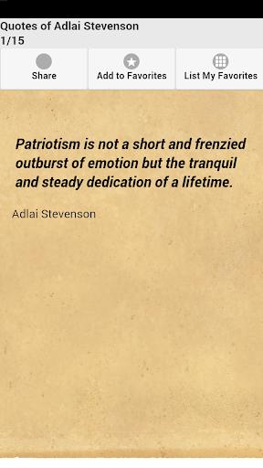 Quotes of Adlai Stevenson