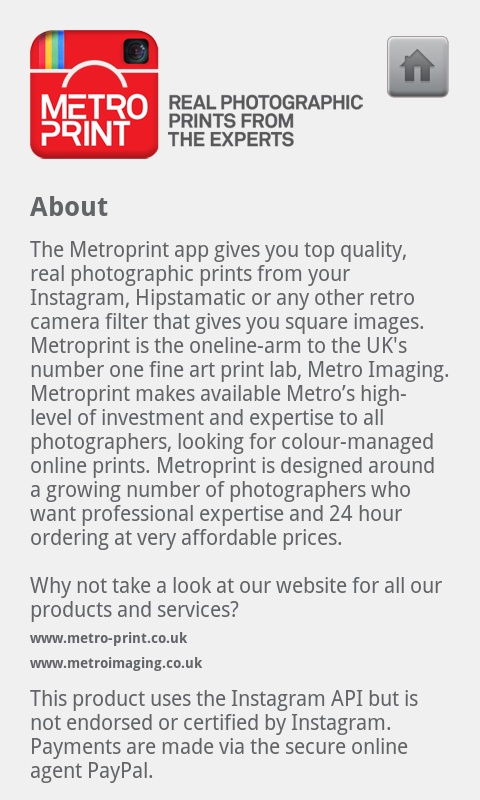 Metroprint - screenshot