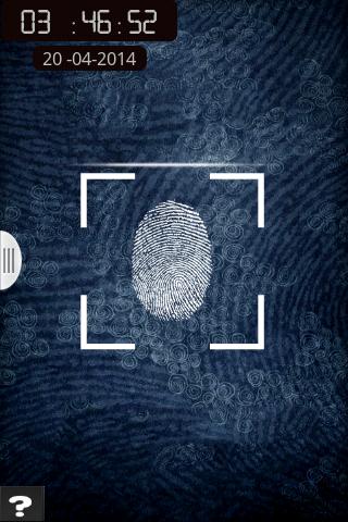 Finger Print Screen Lock prank