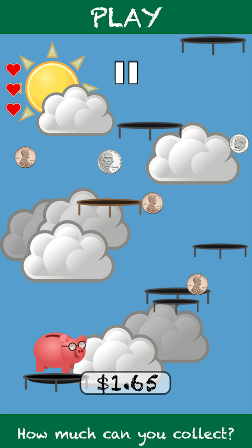 Professor Piggy Bank (Coins)- screenshot
