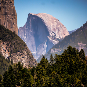 Half Dome  by Dory Formiller - Landscapes Caves & Formations