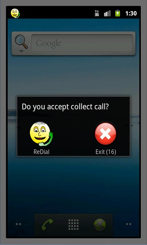 Collect Call- screenshot