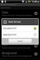 Screenshot of SClock Live WallPaper