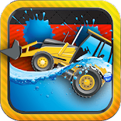 Tractors and Truck Wash Games