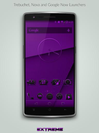 JB Extreme Theme Purple CM11