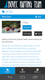 Bovec Rafting Team- screenshot thumbnail