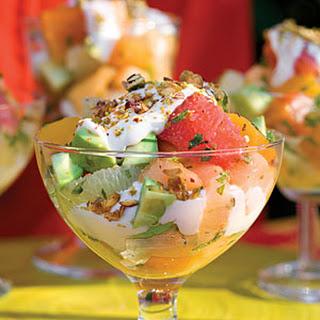 Avocado Fruit Salad.