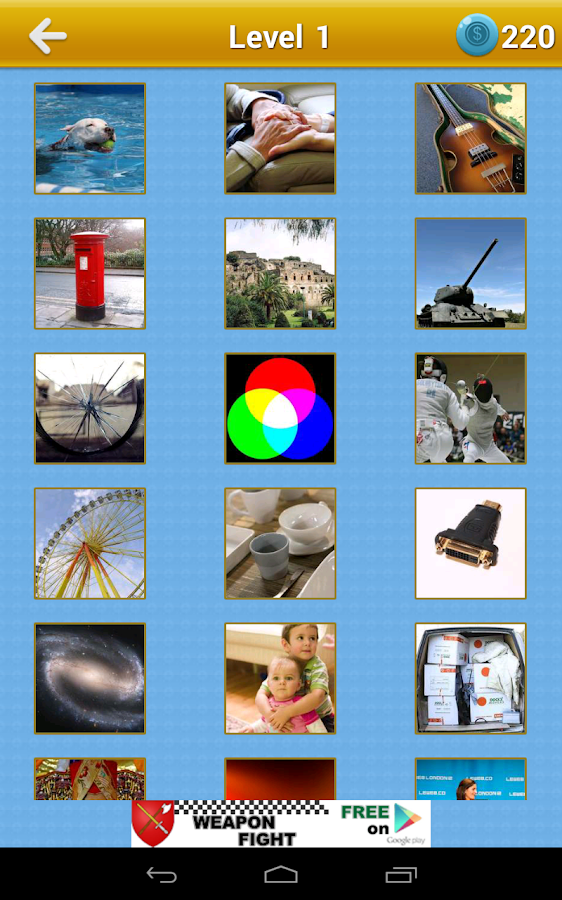 Guess The Word: 4 Pics 1 Word - screenshot