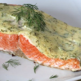 5 Ingredient 10 Minute Creamy Dill Salmon Recipe