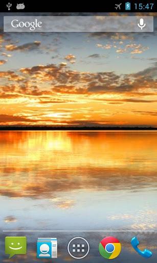 個人化必備免費app推薦|日落之湖動態桌布線上免付費app下載|3C達人阿輝的APP