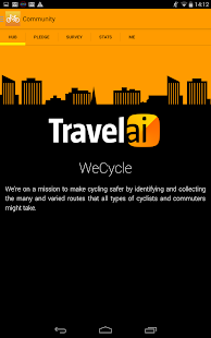 WeCycle Beta -- screenshot thumbnail