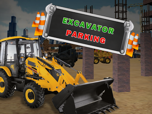 挖掘机停车3D游戏