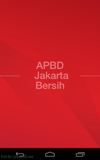 APBD Jakarta Bersih