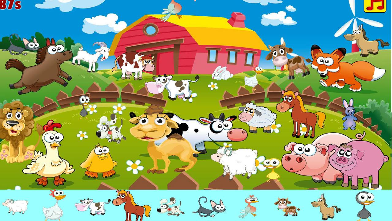 kids hidden animals screenshot - Hidden Pictures For Kids