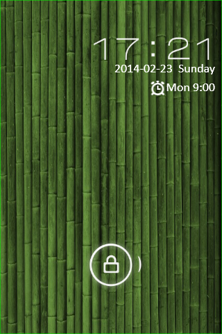 Bamboo GO Locker Theme