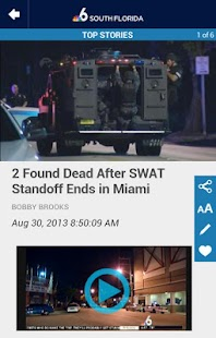 NBC 6 South Florida - screenshot thumbnail
