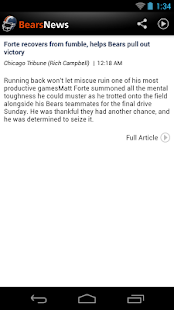 Bears News - screenshot thumbnail