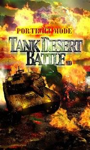 TANK DESERT BATTLE Modern War