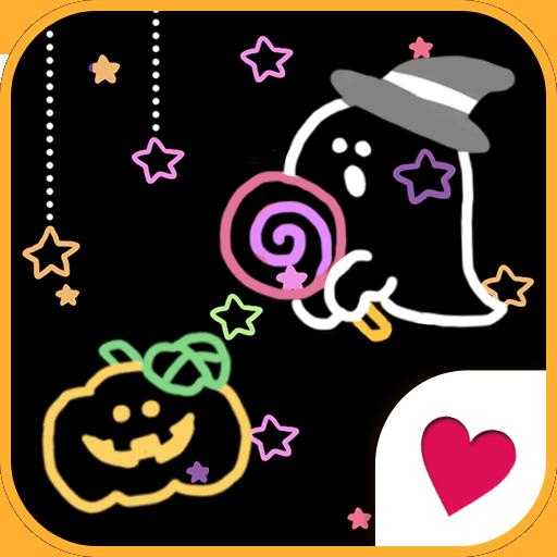 可愛換裝桌布★Pop halloween 個人化 App LOGO-硬是要APP
