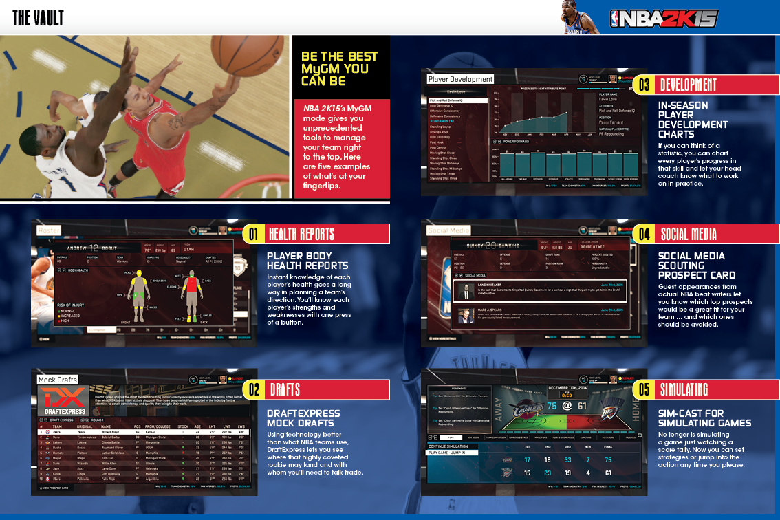 Screenshots of LAUNCH DAY (NBA 2K15) for iPhone
