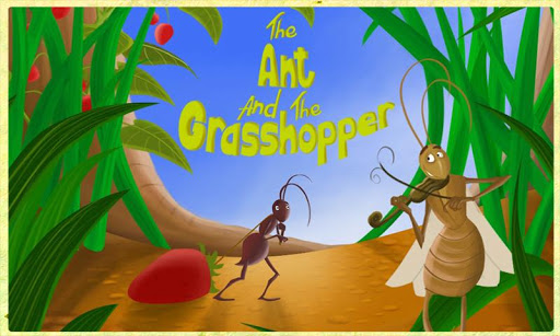 【免費書籍App】Ant and Grasshopper Storybook-APP點子