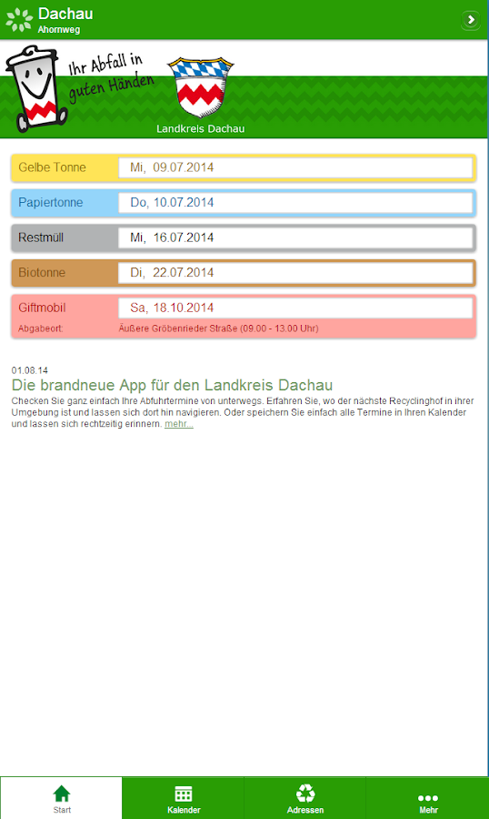 DAH-Müll – Screenshot