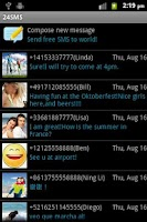 Screenshot of 24SMS - Free International SMS
