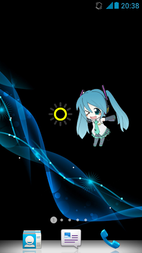 Miku Flashlight : Widget