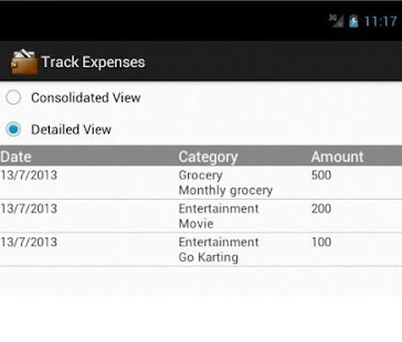 Track Expenses Android Apps On Google Play