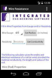 Wire resistance calculator android apps on google play wire resistance calculator screenshot thumbnail greentooth Choice Image