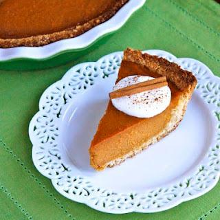 Coconut Macaroon Pumpkin Pie