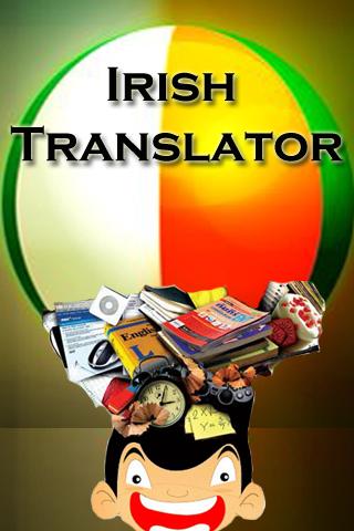Irish English Translator