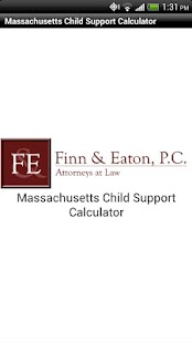 MA Child Support Calculator - screenshot thumbnail