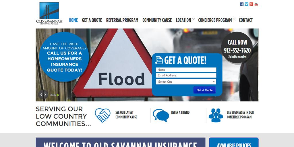 Old Savannah Insurance- screenshot