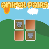 Animal Pairs Kids Memory Game
