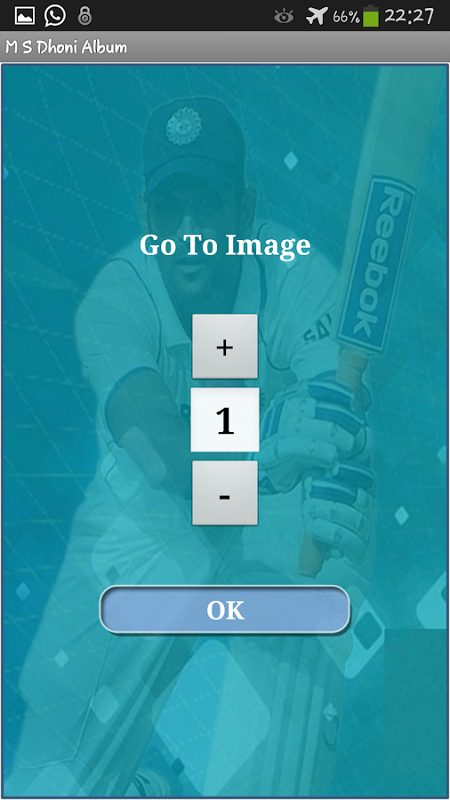 M S Dhoni Album - screenshot