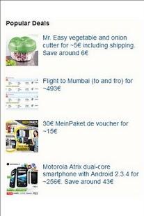 Deals in Germany- screenshot thumbnail