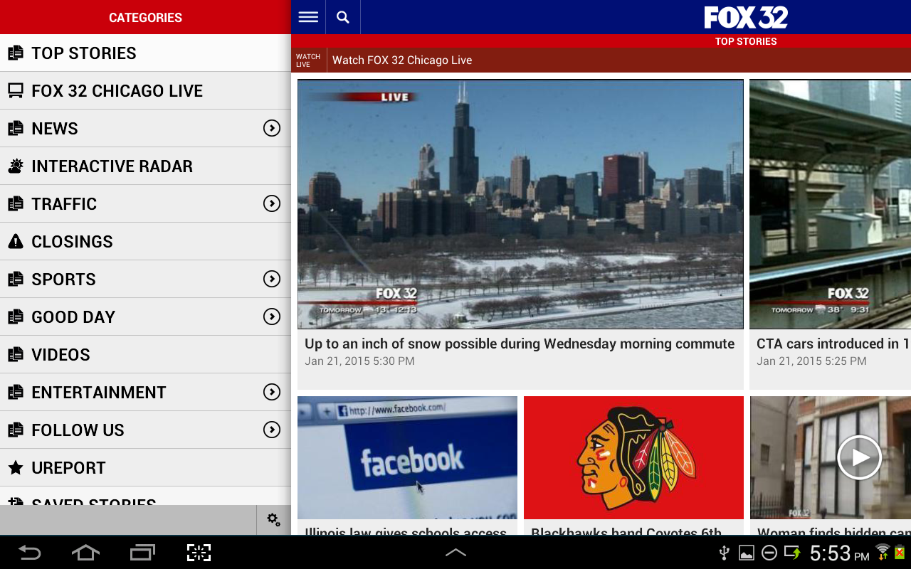 FOX Chicago News- screenshot