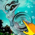 Mermaid Underwater Water Waves icon