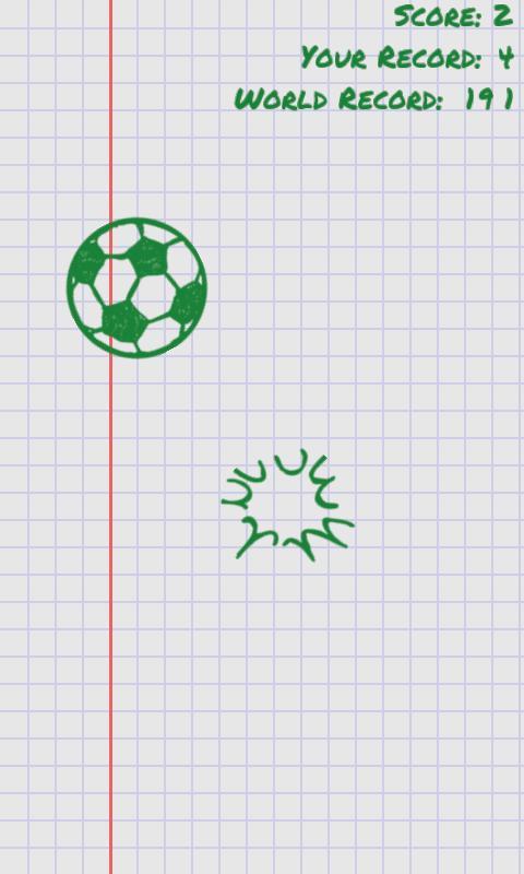 Juggle the Doodle - screenshot