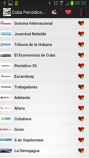 古巴报纸和新闻