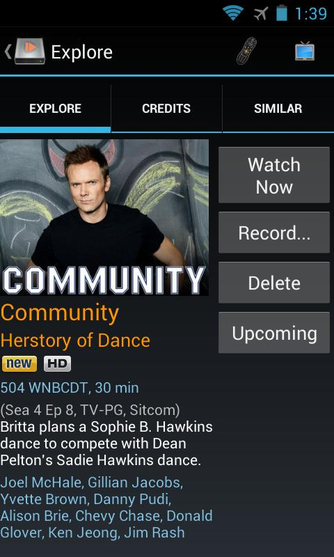 DVR Commander for TiVo®- screenshot