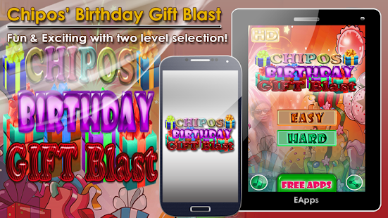 Chipos Birthday Gift Blast - screenshot thumbnail