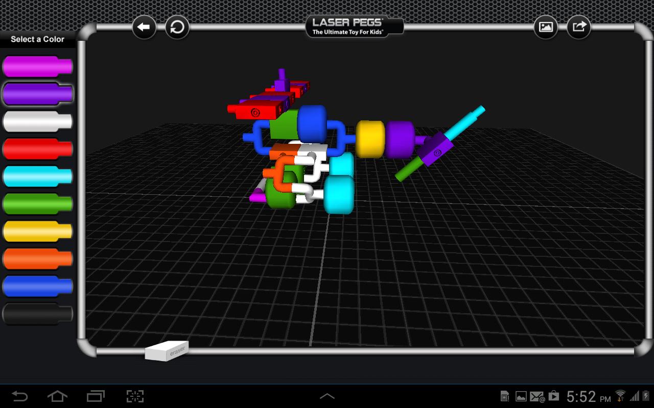 Laser Pegs - screenshot