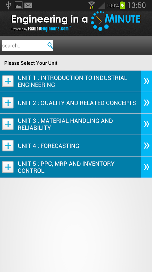 Industrial Engineering - screenshot